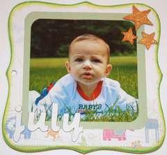 Baby Milestones Mini Album *LYB*
