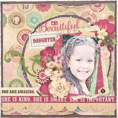 My Beautiful Daughter *My Creative Scrapbook*