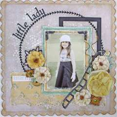 Little Lady ~My Creative Scrapbook~