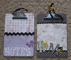 Mini ClipBoards