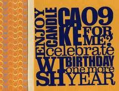 Enjoy Wish Candle Cake 09