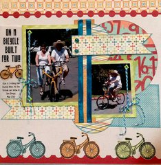On a bicycle built for two