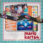 Mario Kart 64- battle mode