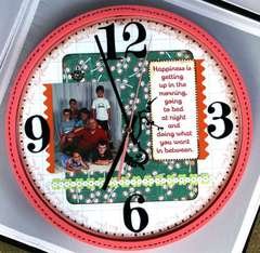 Altered Family Clock