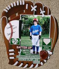 Batter Up Baseball Layout Reminisce