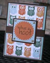 What a Hoot Card