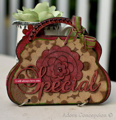 Special Brag Bag *Clear Scraps*