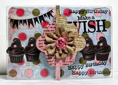 Birthday Card **Clear Scraps**
