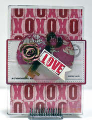 Key to My Heart Card **Clear Scraps**