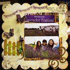 Lavender Festival **Clear Scraps**