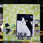 Let It Snow-Man **Clear Scraps**