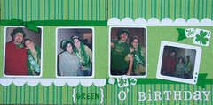 Green O' Birthday