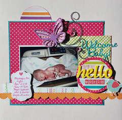 Welcome Baby-Mackenzie