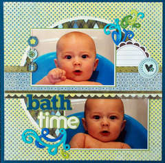 Bath Time -Isak