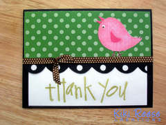 So Tweet Thank you card