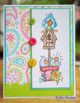 Crazy Nest Easter card