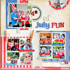 4th of July Fun ~American Crafts~