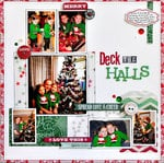 Deck the Halls ~Webster's Pages~