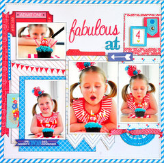 Fabulous at 4 ~NEW Webster's Pages~