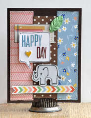 Happy Day card ~American Crafts~
