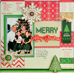 Merry, Merry Christmas ~American Crafts~