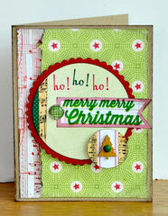 Merry, Merry Christmas card ~Elle's Studio~