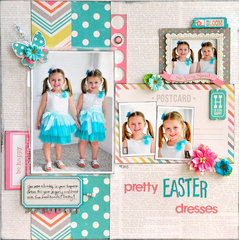 Pretty Easter Dresses ~Simple Stories~