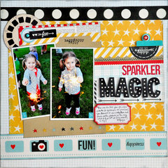 Sparkler Magic ~NEW Simple Stories Say Cheese~