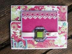 Joy fold card#2