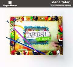 Artist At Work Frame - Paper House Productions