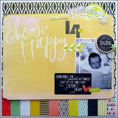 Choose Happy Little One - Berry71Bleu