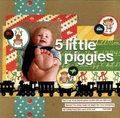 5 Little Piggies