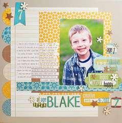 Blake, At Age 7