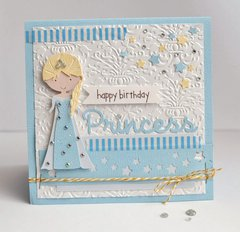 Happy Birthday Princess Card (Queen & Company)