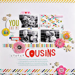 Little Cousins *My Creative Scrapbook May Guest Designer*