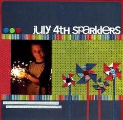 July 4th Spraklers
