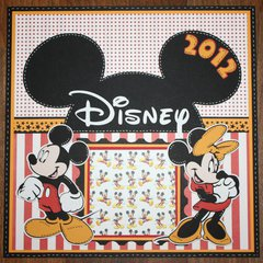 Disney Album Series: Cover Page
