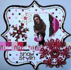 snow stylin