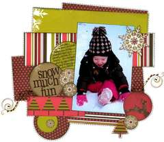 Snow Much Fun *Upsy Daisy Designs*