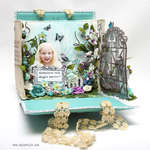 Canvas Album Handbag 3D Card
