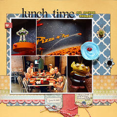 Lunch Time at Pizza Planet