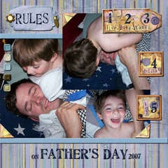 Rules on Father's Day