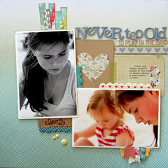 Never Too Old *January Cocoa Daisy*