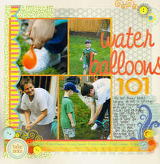 water balloons 101