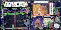 Gremlins ~ Halloween Layout