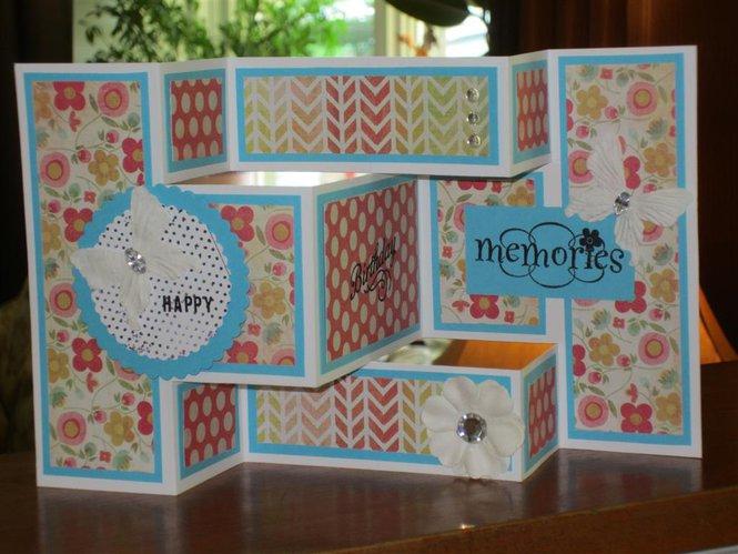 card trifold birthday card