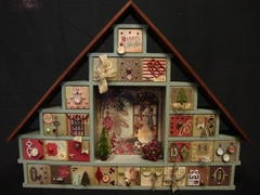 Shadow Box Drawers Advent Calendar