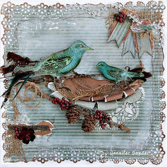 Bird Nest - FabScraps **New CHA Release**
