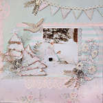 Shabby Winter Forest - Scraps Of Elegance - Dusty Attic