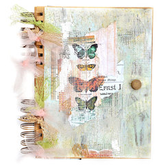 Journal Cover - Flying Unicorns Kit of the Month